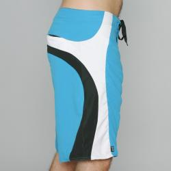 Zonal Men's 'Source' Blue/ White/ Black Boardshorts