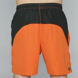 Zonal Men's 'Borg E-Board' Orange Color-block Swim Shorts - Thumbnail 2