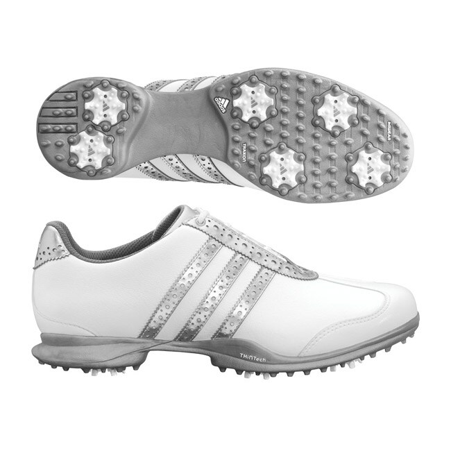 Adidas Women's Driver Val Sport White/ Silver Golf Shoes
