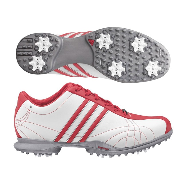Adidas Women's Signature Natalie White/ Beacon/ White Golf Shoes