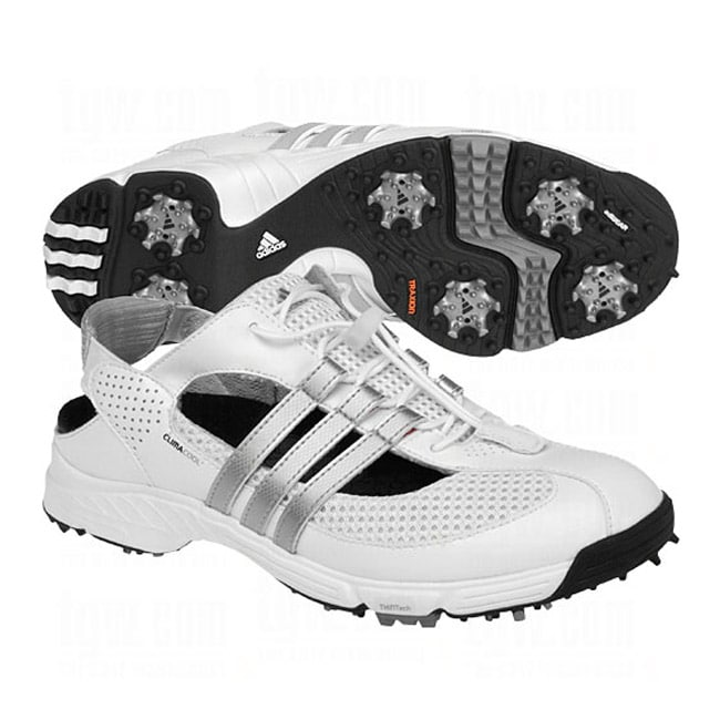 Adidas Women's CC Slingback 2.0 White/ Silver Golf Shoes