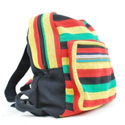 Cotton Rasta Back Pack (Nepal) - Thumbnail 1