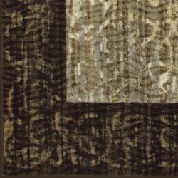 Somette Avante Delicate Attentions Chocolate Rug (5' x 7') - Thumbnail 1