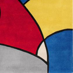 Hand-tufted Multicolored Barnyard Rug (5'3 x 7'6) - Thumbnail 2