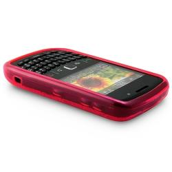 BasAcc Clear Pink TPU Rubber Case for Blackberry Curve 8520/ 8530 - Thumbnail 2