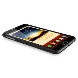 Black Matte Snap-on Case for Samsung Galaxy Note N7000