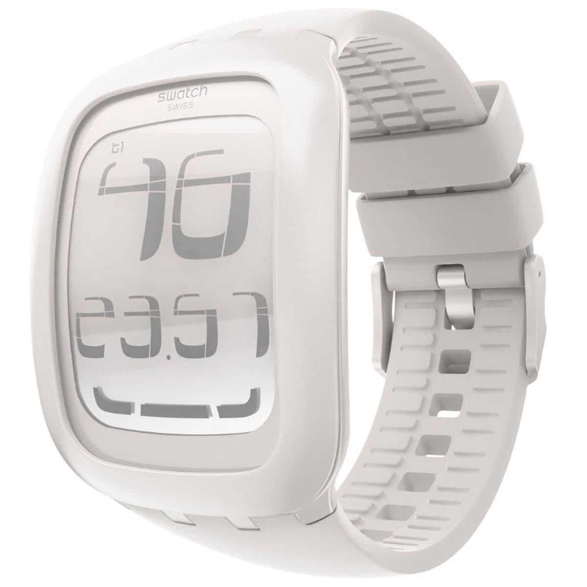 Swatch Men's White Crystal Watch