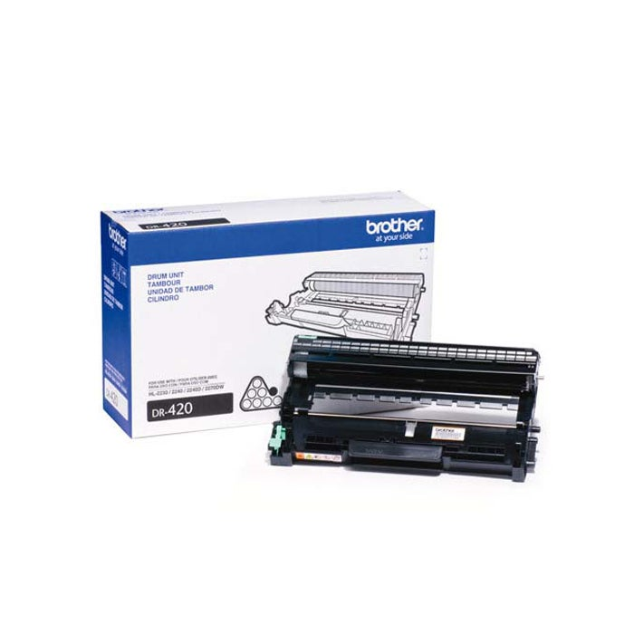 Brother Black DR 420 Laser Printer Drum Unit Toner Cartridge - Thumbnail 0