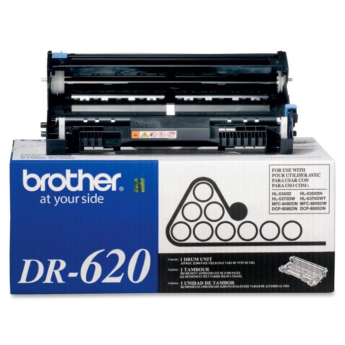 Brother Black ABS DR 620 Drum-unit Laser Toner Printer Ink Cartridge