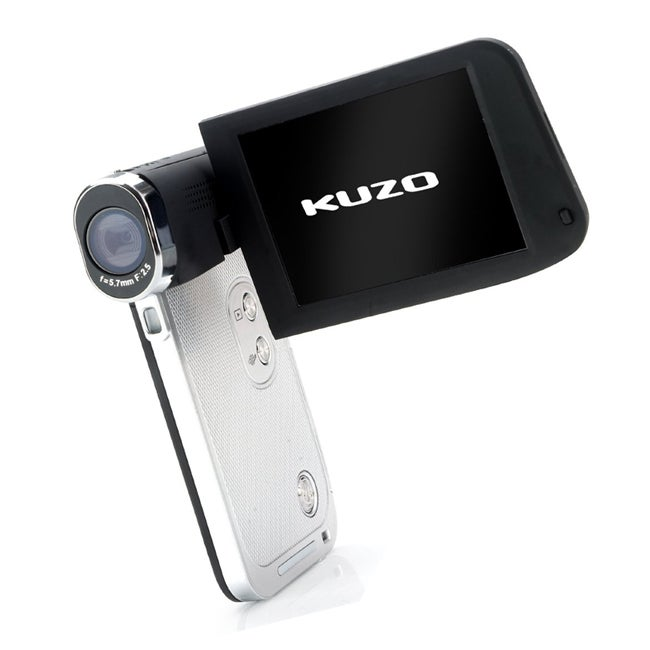Veho VCC-008 Kuzo Full 1080p High Definition Slimline Camcorder with 3inch Touch Screen - Thumbnail 0
