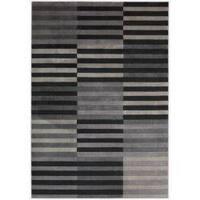 Nourison Utopia Multi Abstract Rug - Black/Grey - 9'6 x 13'