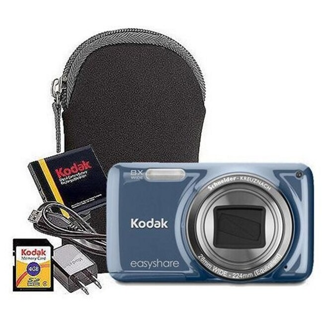 Kodak EasyShare M583 14MP Digital Camera with 4GB SD Card Bundle