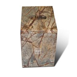 Shop Amazon Forest Brown Marble Tissue Holder Free