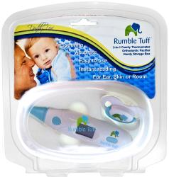 Daddy-Luv 3-in-1 Thermometer Orthodontic Pacifier Set - Thumbnail 1