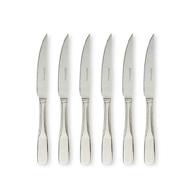 LeBrun French Baguette Style Stainless Steel Steak Knives (Set of 6)