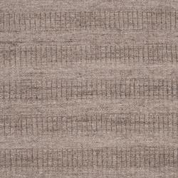 Hand-crafted Solid Grey Baham  Wool Rug (8' x 10') - Thumbnail 2