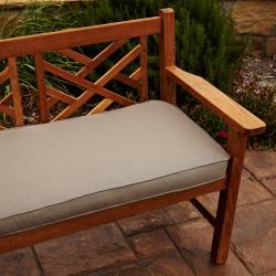 Clara Taupe 60-inch Outdoor Sunbrella Bench Cushion
