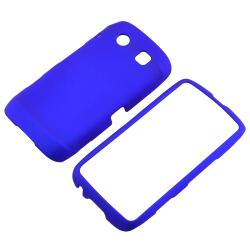 BasAcc Blue Snap-on Rubber Coated Case for Blackberry Torch 9850/ 9860