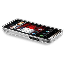 Clear S Line TPU Rubber Case for Motorola Droid Bionic Targa XT875 - Thumbnail 2