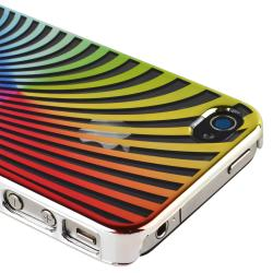 Rainbow Swirl Snap-on Case for Apple iPhone 4/ 4S - Thumbnail 1