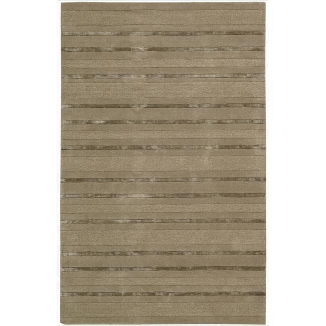 Nourison Hand-tufted Sesame Sahara Rug (1'9 x 2'9)