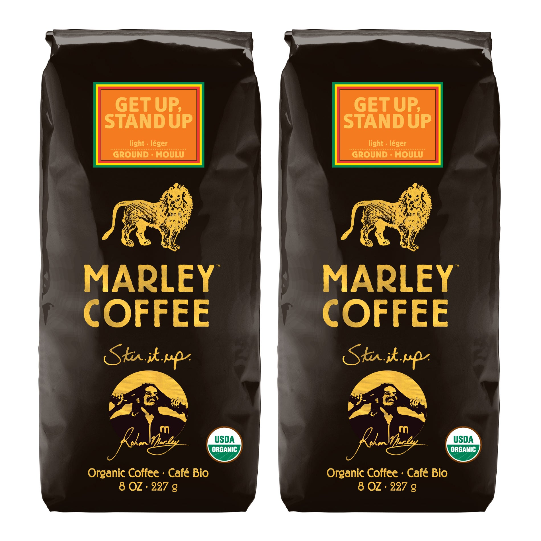 Marley Coffee Get Up Stand Up Ground Coffee (1 pound)