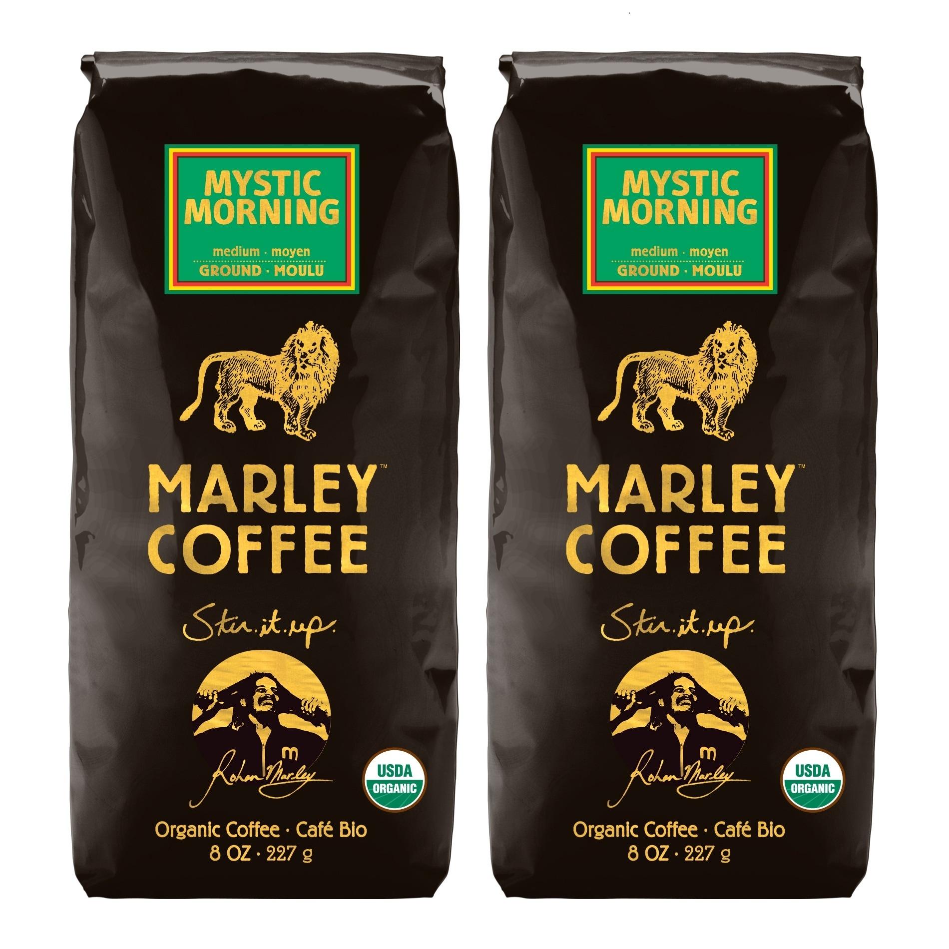 Marley Coffee Mystic Morning Ground Coffee (1 Pound)