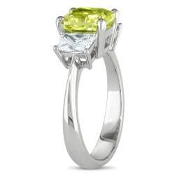 Miadora 18k Gold 2 7/8ct TDW Certified Yellow and White Diamond Ring (G-H, VS2)