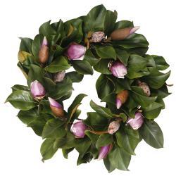Magnolia Bud 24-inch Wreath