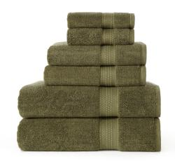 Celebration 7 Star Spa 6-piece Towel Set - Thumbnail 1
