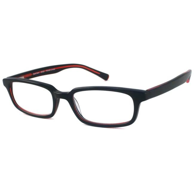 Scojo Men's Clark Kent Black/ Red Reading Glasses