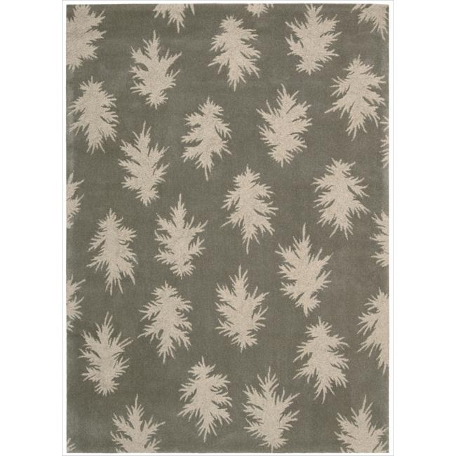 Nourison Home Hand-tufted Naturals Grey Rug (3'6 x 5'6)