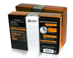 Srixon Trispeed 2 Golf Balls (Case of 24) - Thumbnail 2