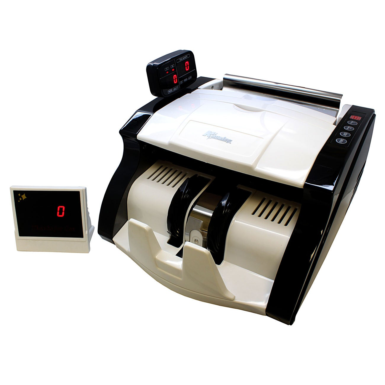 Digital Money Bill Banknote Counter with UV/MG Counterfeit Detection
