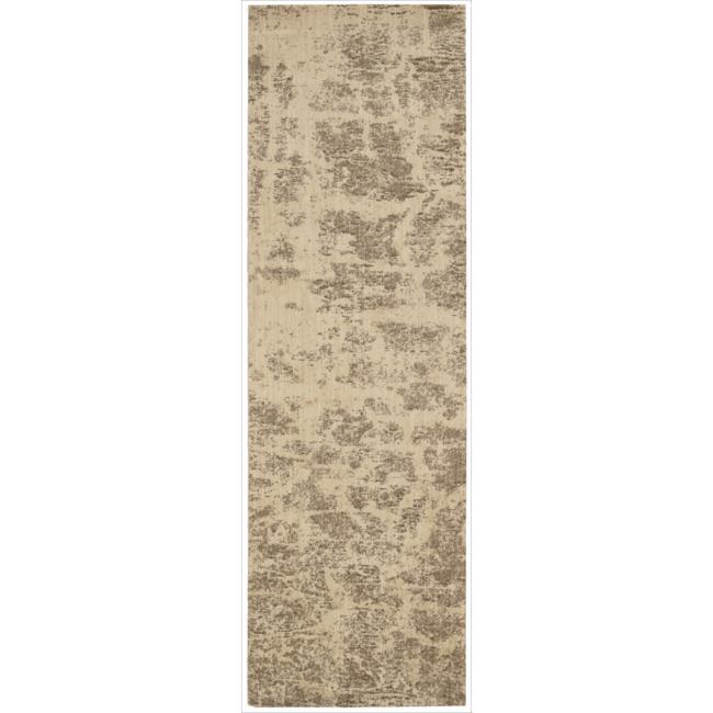 Nourison Home Metropolitan Beige Rug (2'3 x 7'6)