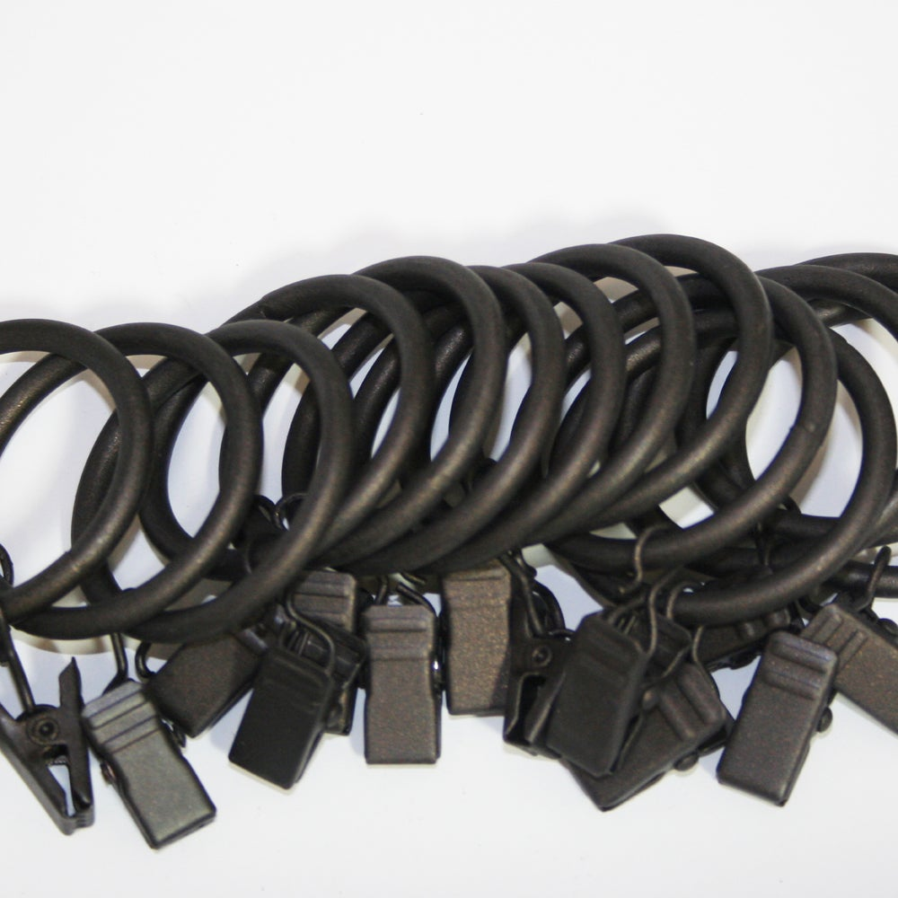 Lewis Oil Brown Iron Clip Ring (Pack of 14)
