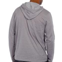 191 Unlimited Men's Grey Pullover Hoodie