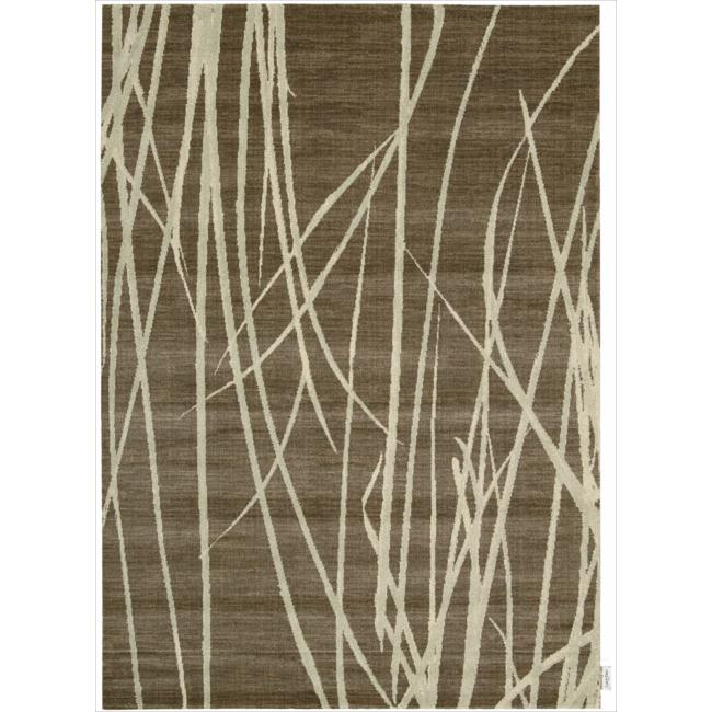 Nourison Home Woven Textures Brown Rug (7'9 x 10'10)