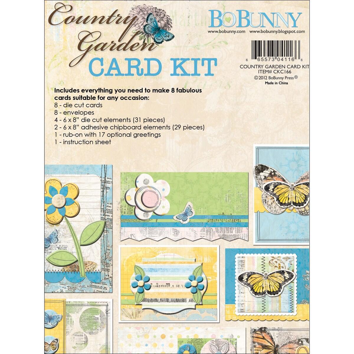 Country Garden Card Kit