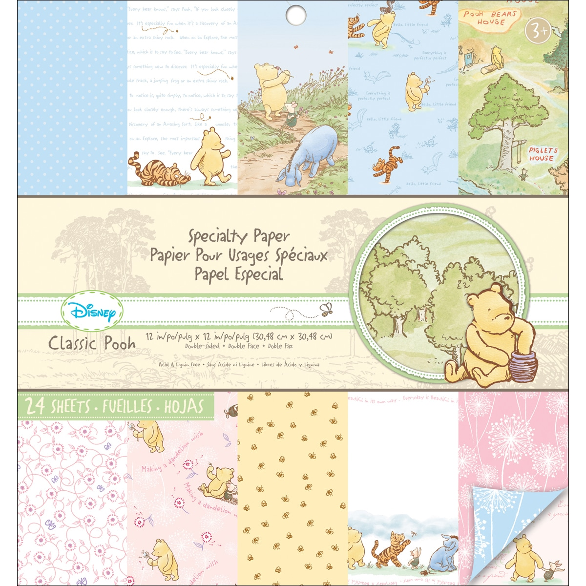 EK Success Disney Specialty 'Classic Pooh' Double-Sided Paper Pad