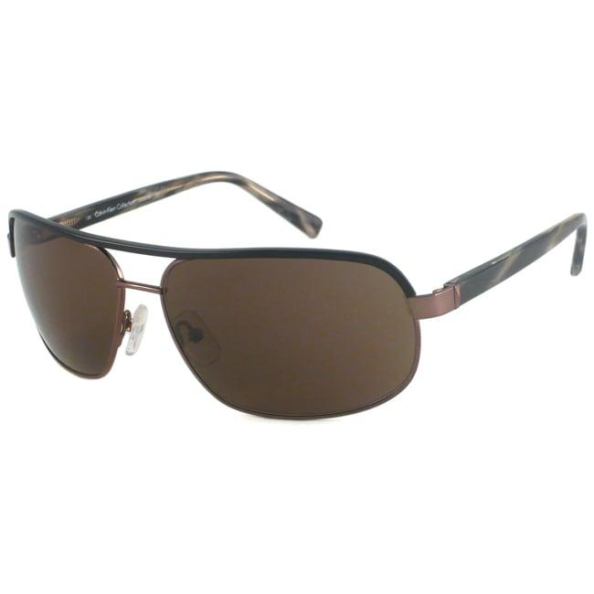 2dafd200494a Shop Calvin Klein Men's CK7218S Aviator Sunglasses - Free Shipping Today -  Overstock - 6720276
