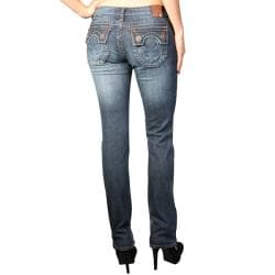 Laguna Beach Women's 'Hermosa Beach' Dark Blue Slim Fit Jeans