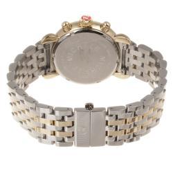 Michele Women's Diamond Two-tone Watch