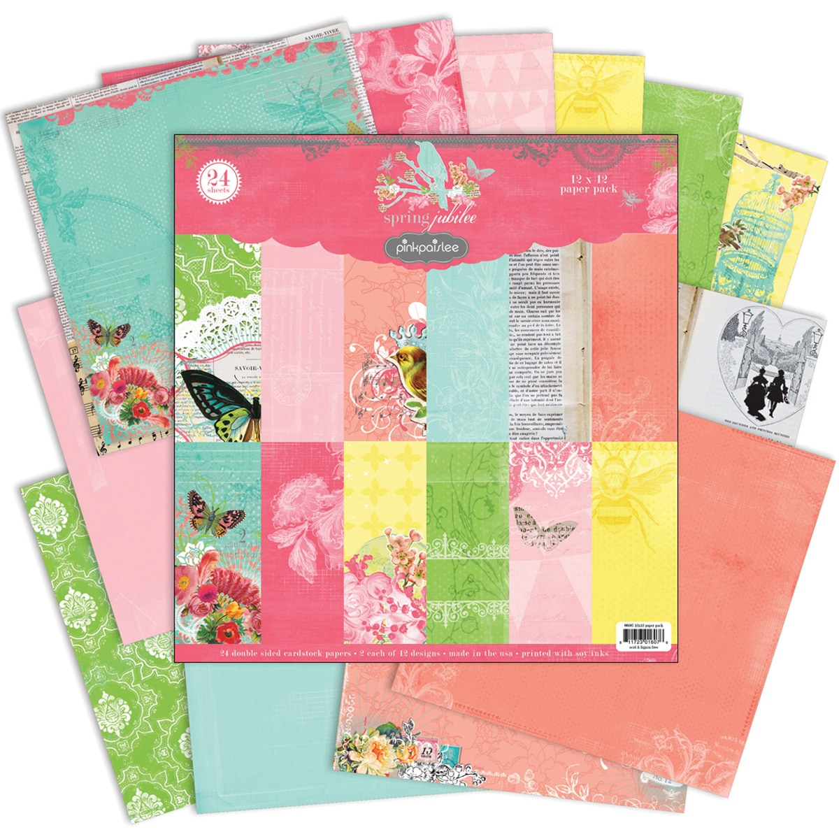 "Spring Jubilee Double-Sided Paper Pack 12""X12in"
