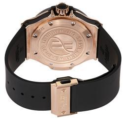 Hublot Men's 'Big Bang King' Black Ceramic Rose Gold Automatic Watch