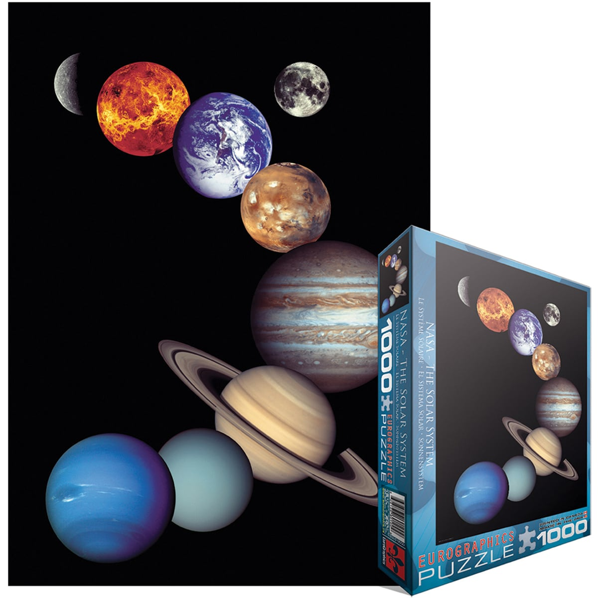 Jigsaw Puzzle 1000 Pieces -NASA Solar System