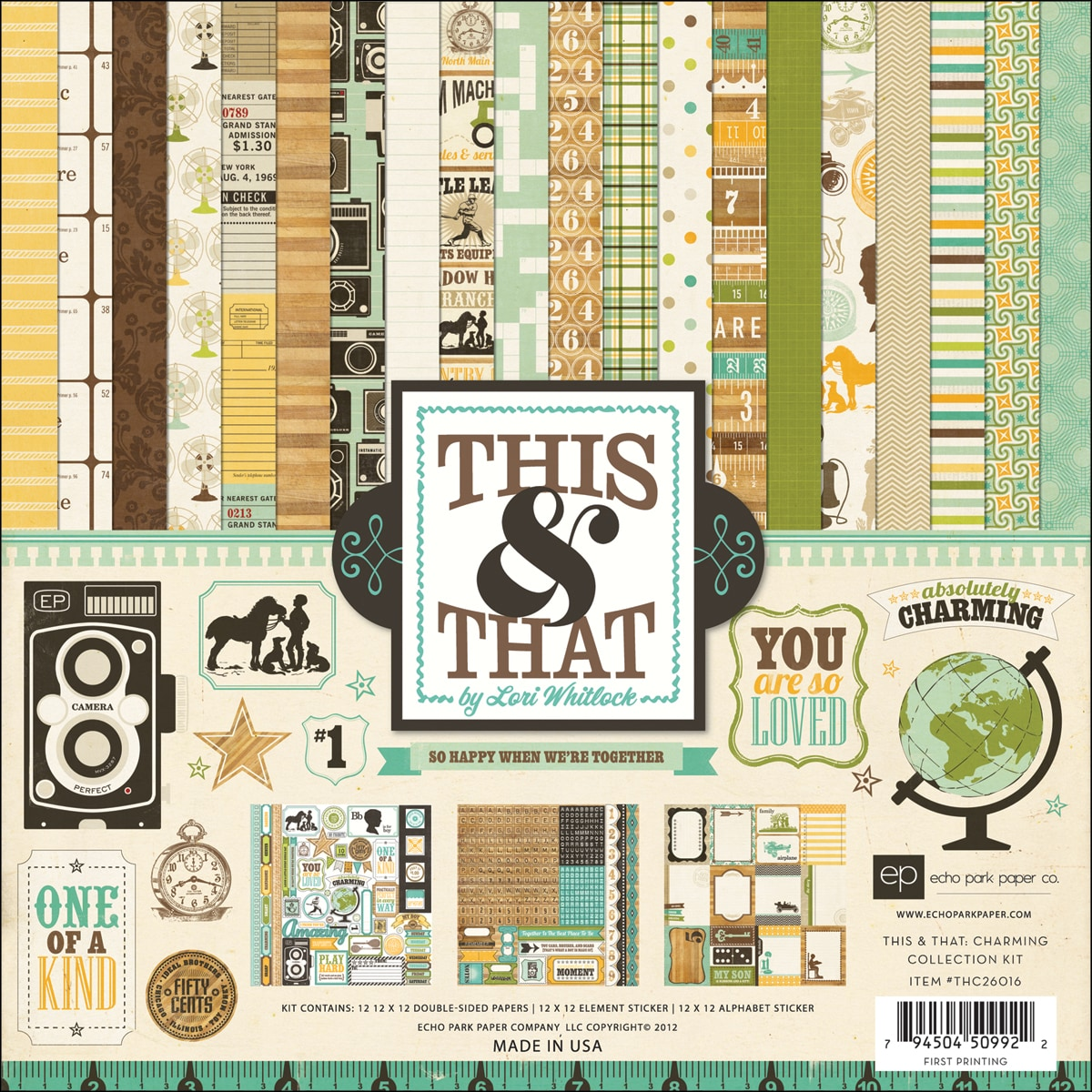 "This & That Charming Collection Kit 12""X12"""