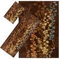 Woven Multicolored Tabluar 3-piece Rug Set