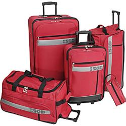 IZOD Metro 5-Piece Luggage Set - Thumbnail 1