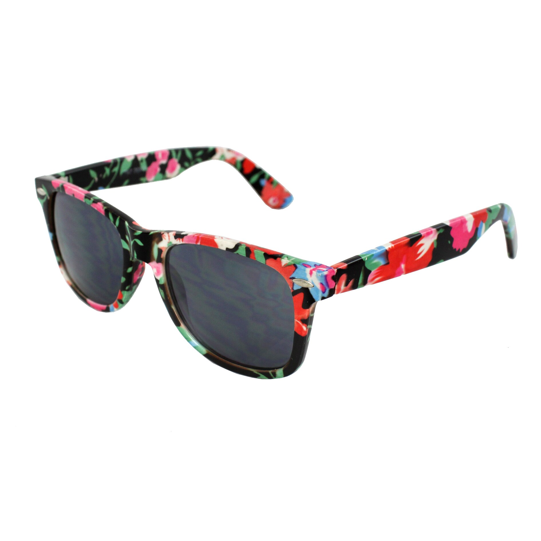 Women's Floral Pattern Sunglasses